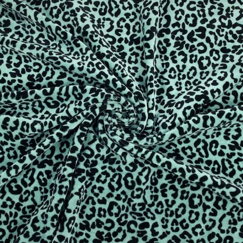 Bio Nicki - Leopard - dusty green