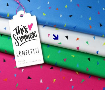 Bio Sweat Confetti - weiß - This Summer - Hamburger Liebe