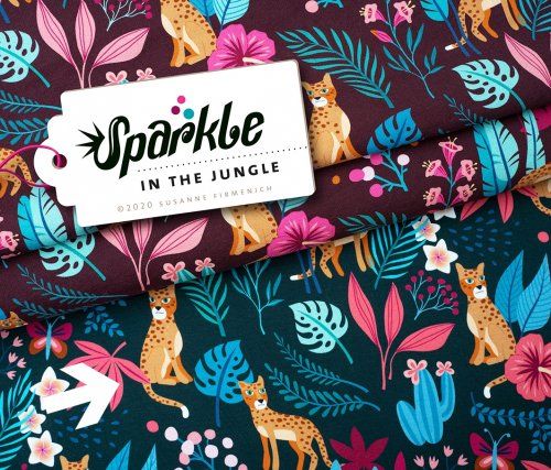 Bio Sweat - In the Jungle - Col.2 - Sparkle - Hamburger Liebe - Albstoffe