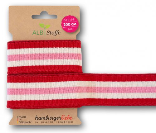 Bio Stripe Me - College Col. 64 - Plain Stitches - Hamburger Liebe - Albstoffe