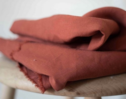Tencel - Linen Slub - terracotta - MeetMilk