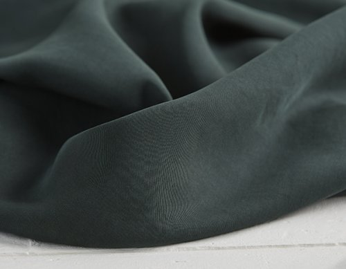 Tencel - Medium Twill - deep green - MeetMilk