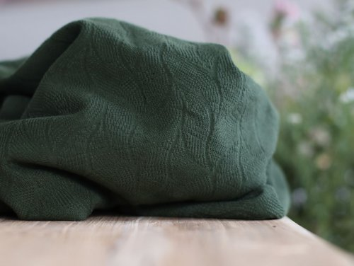 Bio Jacquard - Leaf - green khaki - Mind the Maker