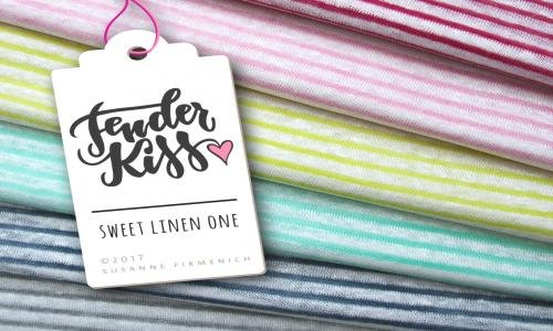Bio Leinen - Sweet Linen - ONE jeans - Tender Kiss - Hamburger Liebe