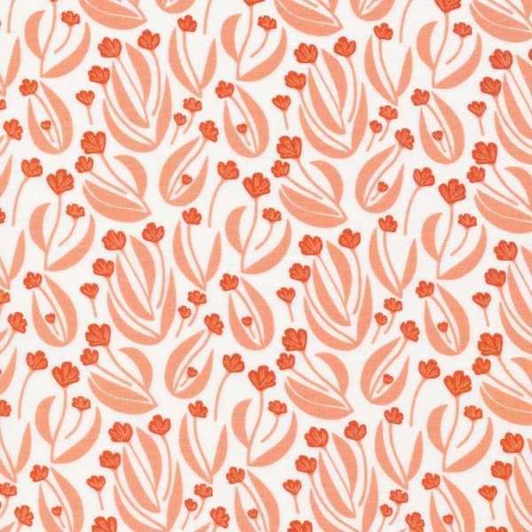 Bio Baumwolle - Barnest orange - Stockbridge - Cloud9 Fabrics