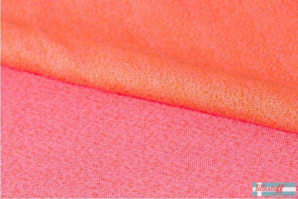 Bio Jacquard - Dotties - pink/orange - Lillestoff