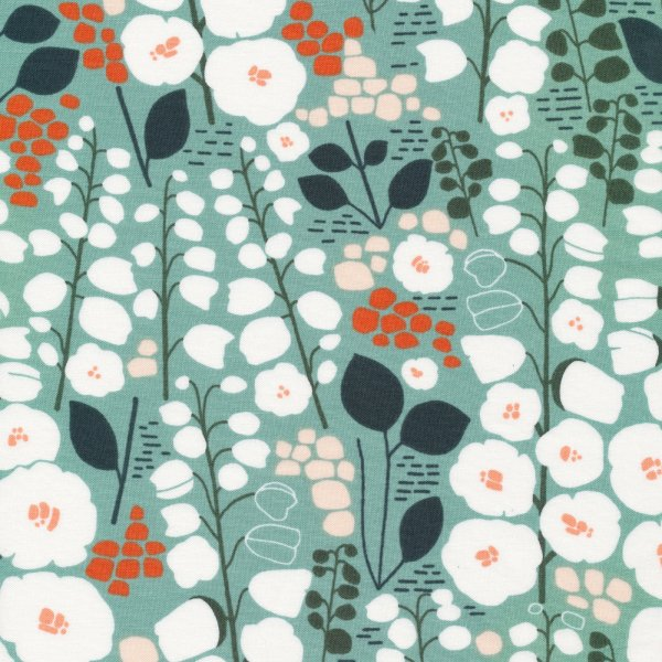 Bio Baumwolle - Stockbridge green - Stockbridge - Cloud9 Fabrics