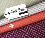 Bio Jacquard - Fish Net - Col. 03 - Check Point - Hamburger Liebe